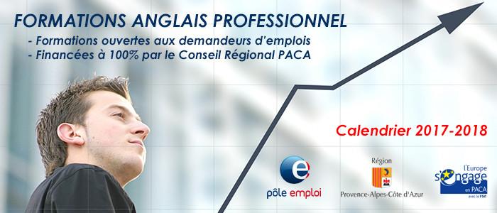 Formations Anglais pour demandeurs d'emploi