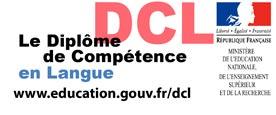 Diplôme de Compétence en Langue (DCL)